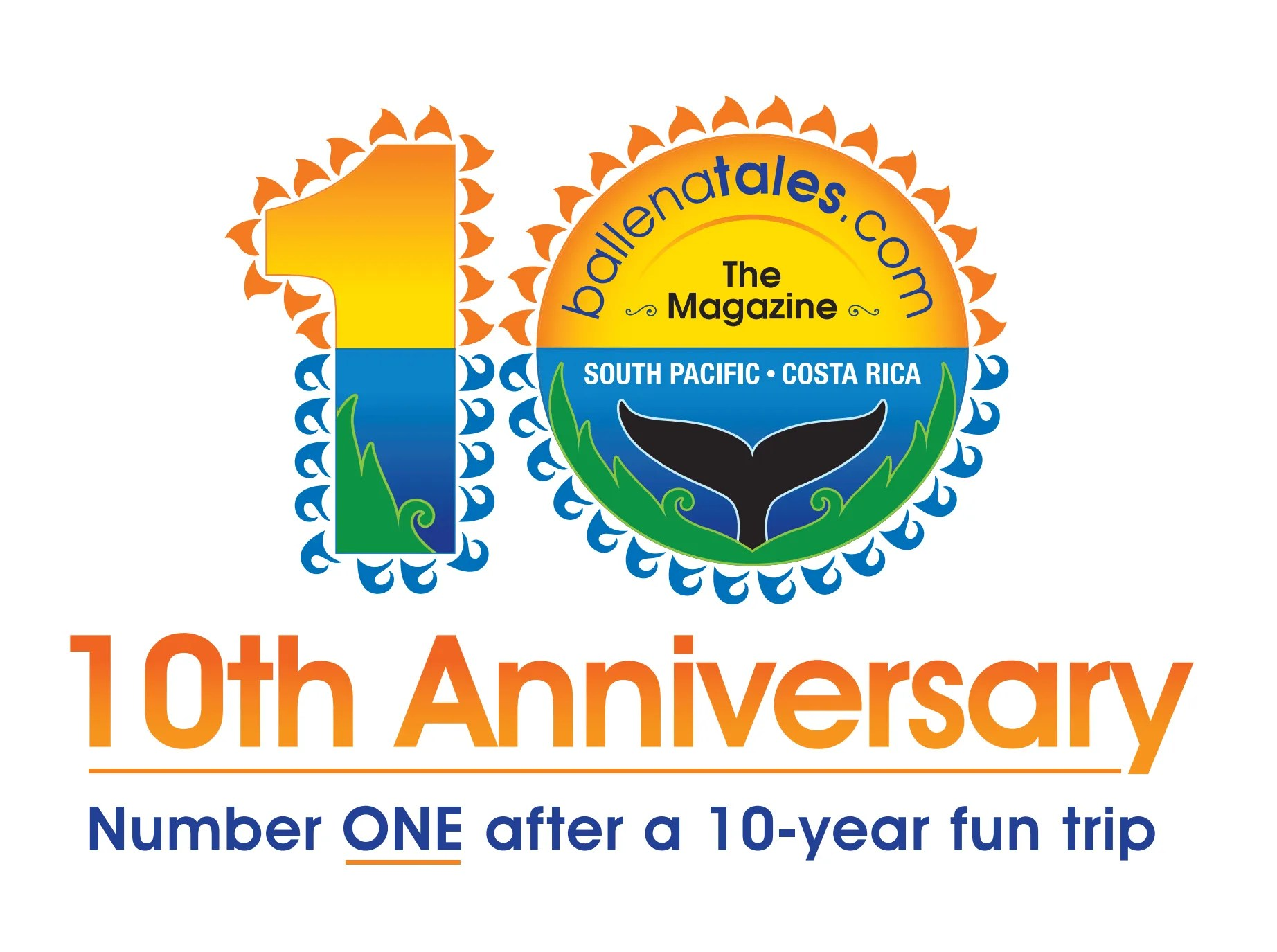 10 years anniversary celebration, Advertise With Us, Ballena Tales Magazine