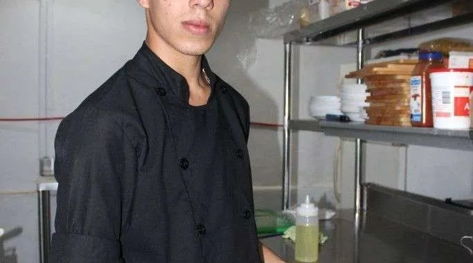 Young chef man