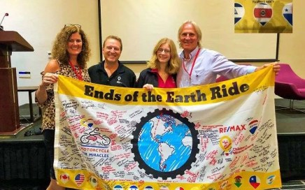 REMAX Motorcycle for Miracles – Ends of the Earth Ride