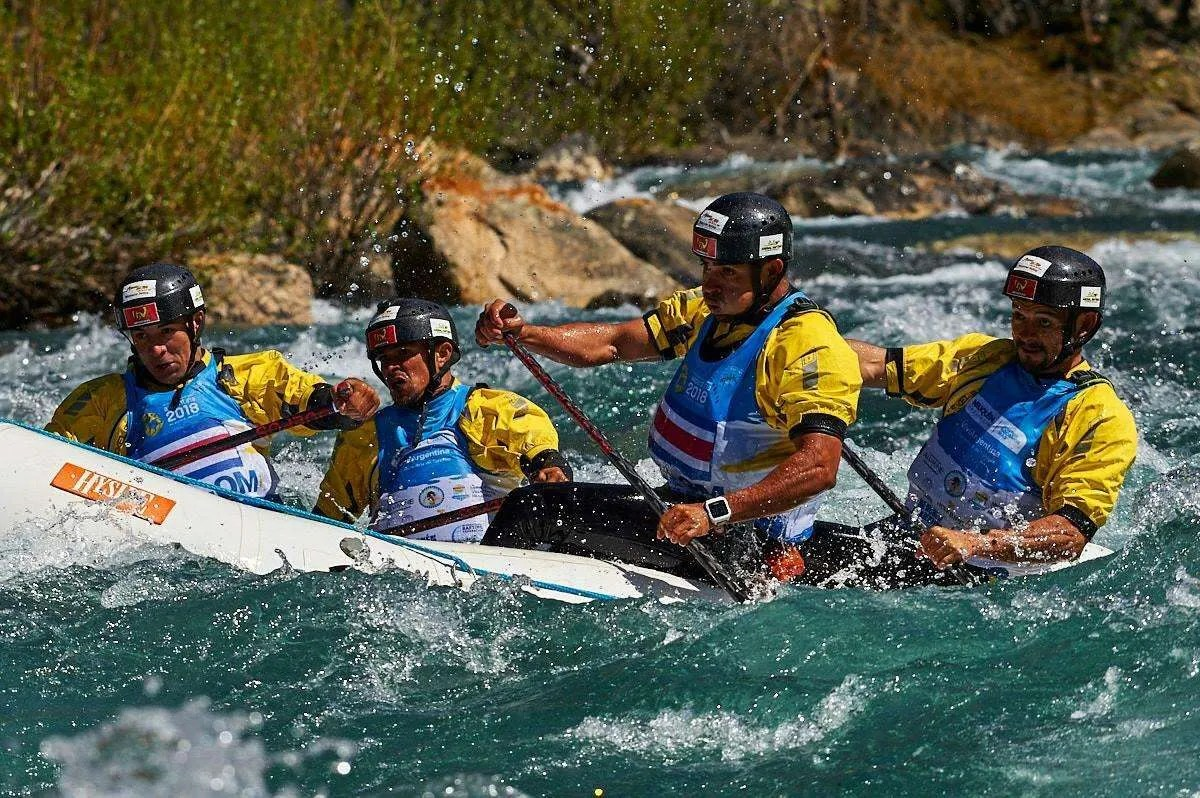 world rafting champion ship campeonato mundial rafting argentina 2018
