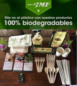 JMF hotel and restaurant biodegradable products, semilla de aguacate