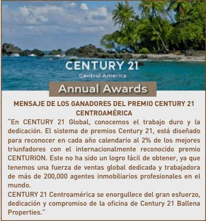 Century 21 Ballena Properties best office
