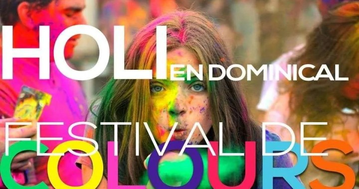 The Holi Festival in Dominical 3