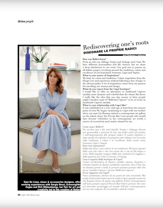 capri magazine articolo