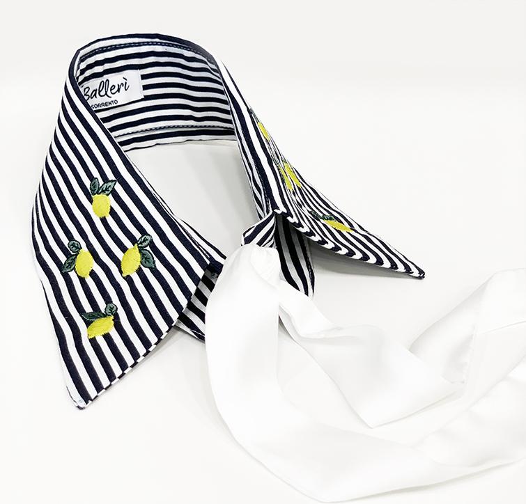 Blu Stripes Ravello Collar - 3