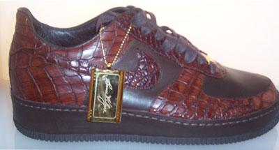 Special edition Nike Air Force Ones (Photo: BallerStatus.com)