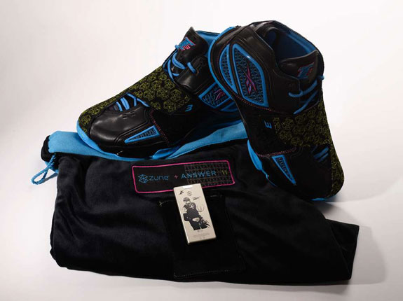 Reebok Zune Partner For Limited Edition Allen Iverson Sneaker