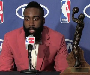 James Harden wins Sixth Man of the Year 2011-12