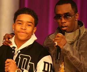 Diddy and his son Justin Combs