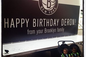 Brooklyn Nets wish Deron Williams a happy birthday.