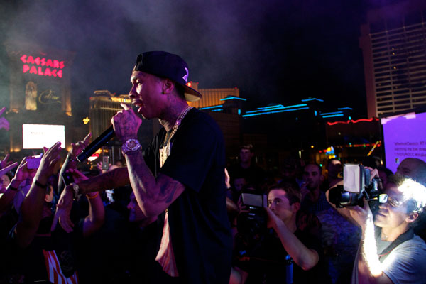 Reebok Classics made their presence known in Las Vegas Monday (August 20) d362e260e