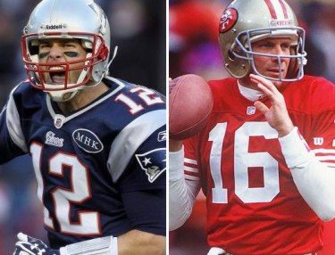 Tom Brady or Joe Montana