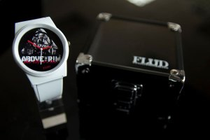 Flüd x Above The Time Pantone watch