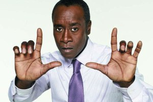 Don Cheadle as Marty Kaan in Showtime's HOUSE OF LIES.