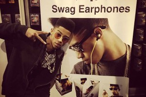 Lil Twist at CES 2013 introducing by Swag Earphones