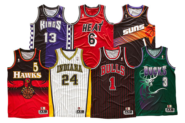 NBA Hardwood Classics Uniforms