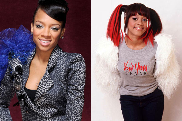 Lil Mama and Left Eye