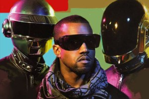 Kanye West and Daft Punk