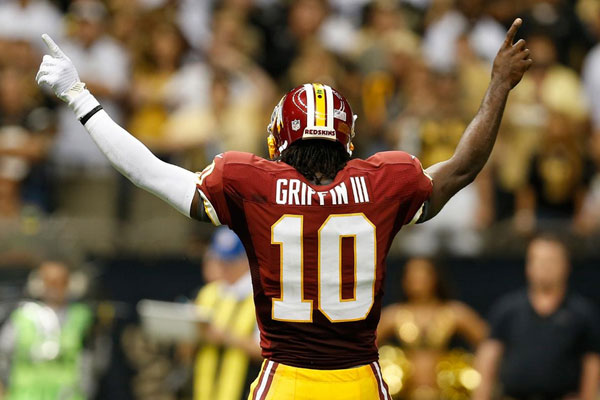 the latest f209e 4a3c9 Robert Griffin III Is NFL's Top-Selling Jersey