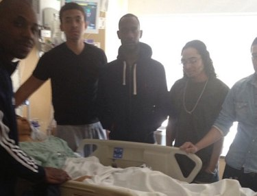 AraabMuzik in hospital, recovering from gunshot wound.