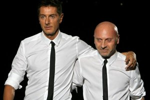 Dolce & Gabbana founders, Domenico and Stefano