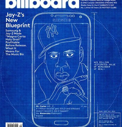 Jay-Z covers Billboard issue.