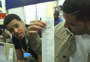 J. Cole, Drake Hit Best Buy To Clear Out 'Born Sinner' Stock (Video)