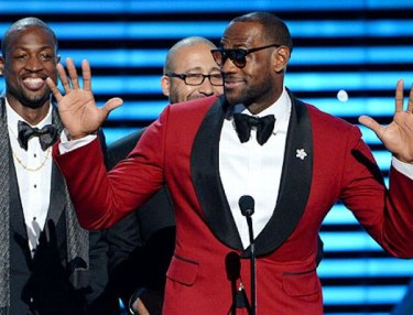 LeBron James wins at 2013 ESPYS