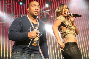 Timbaland and Keri Hilson