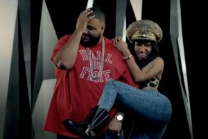 DJ Khaled and Nicki Minaj