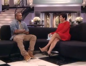 Sneak Peek At Kanye West's Interview On 'Kris Jenner Show' (Video)
