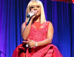 Trina Pays Tribute To Nicki Minaj At 2013 BMI Awards