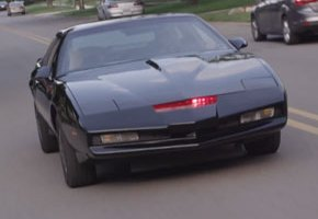 Homemade 'Knight Rider' KITT Replica