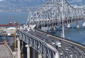 New $6.4 Billion SF-Oakland Bridge Opened (Time-Lapse Video)
