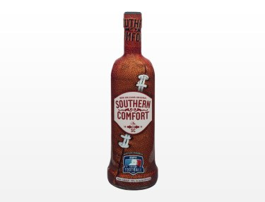 Southern Comfort Drops Limited Football-Wrapped Bottle