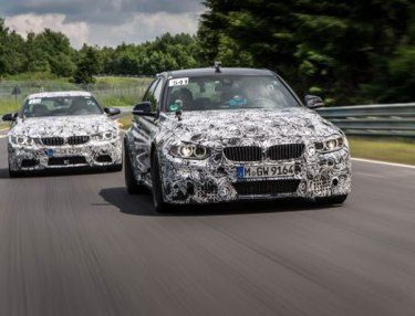 M3 Sedan, M4 Coupe prototypes