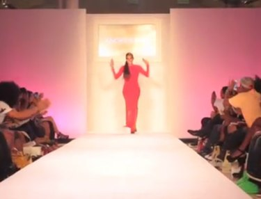 Angela Simmons 'Angela I Am' Runway Show At New York Fashion Week (Video)