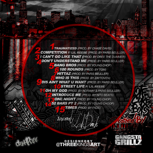 Lil Durk - Signed To The Streets (Mixtape) Back