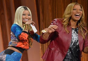 Nicki Minaj, Queen Latifah Try Out Different Accents