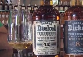 Chef Adam Perry Lang Gets Inside Look Into Making Of George Dickel Whisky