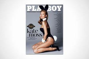 Playboy's 60th Anniversary Issue - Kate Moss