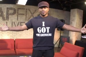 Sway responds to Kanye West with 'I GOT THE ANSWERS'' t-shirt