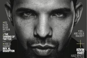 Drake on Vibe Winter 2014 issue