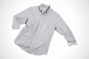 Outlier's Blazed Button Down Pivot Shirt