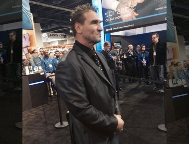 Ken Shamrock working security for 50 Cent.