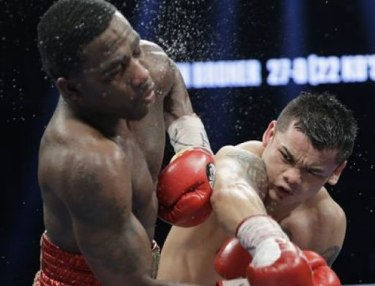 Adrien Broner and Marcos Maidana