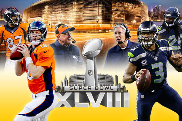 Super Bowl XLVIII - Denver Broncos vs. Seattle Seahawks