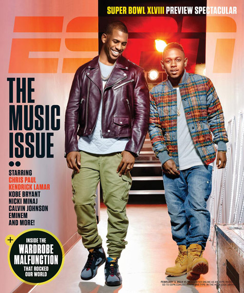 ESPN The Magazine 2014 Music Issue