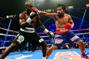 Timothy Bradley and Manny Pacquiao