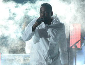 Kendrick Lamar Performs With Imagine Dragons At Grammys